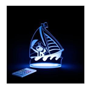 Dziecięca lampka nocna LED Aloka Pirat
