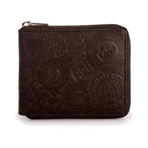 Skórzany portfel Lois Brown, 10,5x8,5 cm
