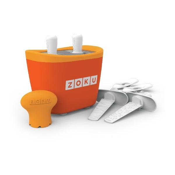 Pomarańczowa maszynka do lodów Zoku Duo