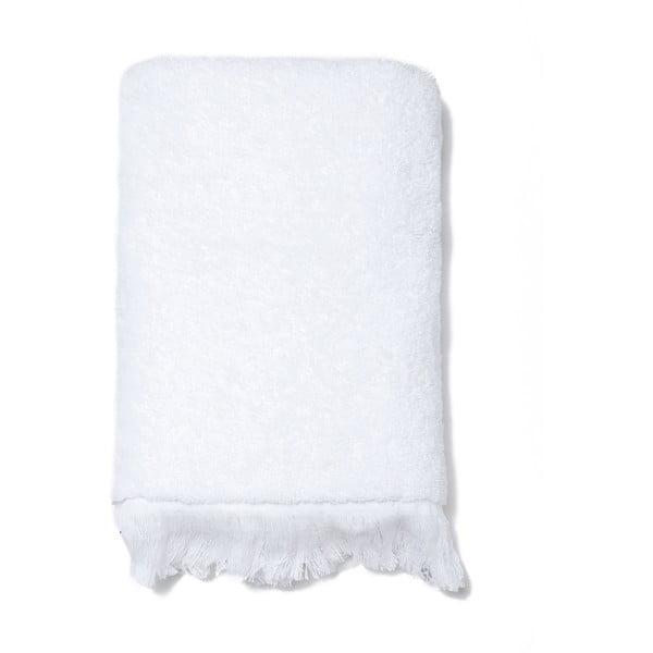 Komplet 2 białych ręczników bawełnianych Casa Di Bassi Face, 50x90 cm