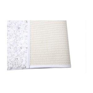 Mata łazienkowa Caniche Blanc, 80x50 cm