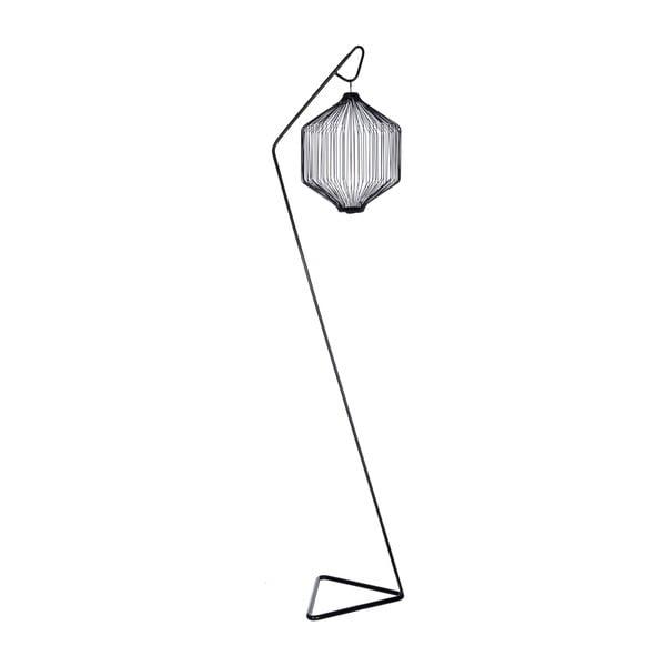 Lampion Triangle Black, 166 cm