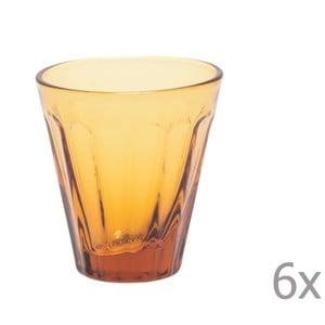 Zestaw 6 kieliszków Lucca Honey, 50 ml