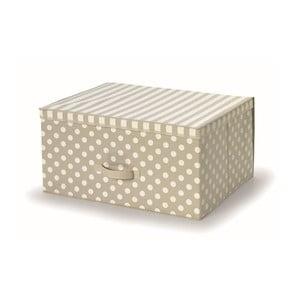 Beżowe pudełko z pokrywką Cosatto Trend, 45x60 cm