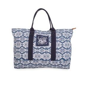 Biało-niebieska torba Lois Playera