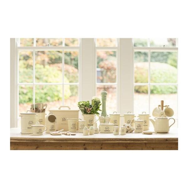 Kremowa solniczka ceramiczna T&G Woodware Pride Of Place