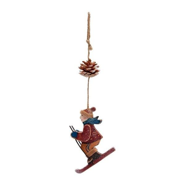 Dekoracja wisząca Skiing Boy Paul