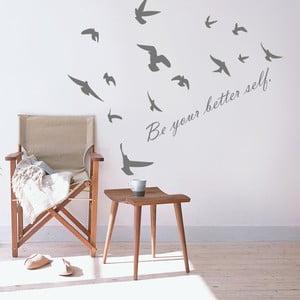 Naklejka dekoracyjna na ścianę Be your better self