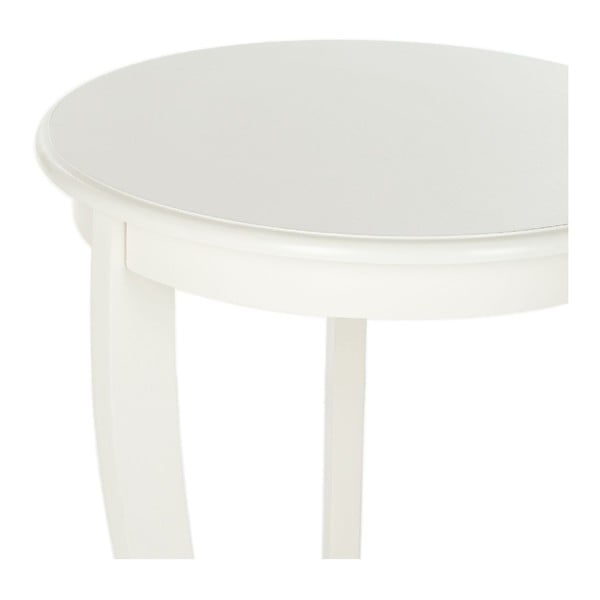 Stolik Safavieh Pedestal Cream