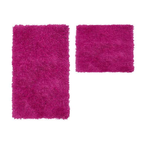 Zestaw 2 dywaników łazienkowych Citylights Purple