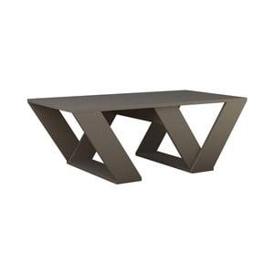 Szarobrązowy stolik Homitis Pipra