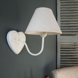 Lampa naścienna Antique Simone, 20x28x25 cm