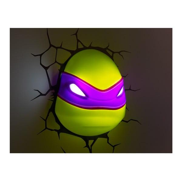 Kinkiet z naklejką Donatello