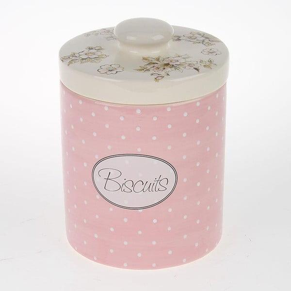 Porcelanowy pojemnik Biscuits with Flower