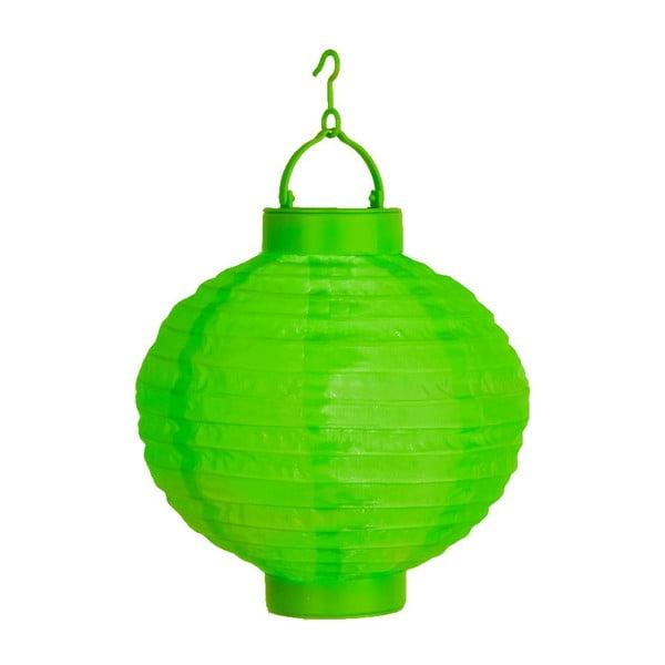 Lampion z LED Summer, zielony