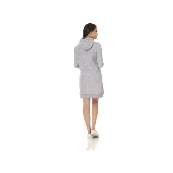 Domowa długa bluza Streetfly Grey, S