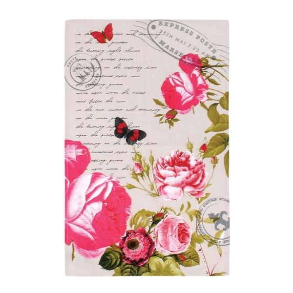 Ścierka Postcards, 45x70 cm