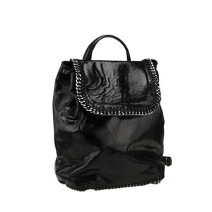 Skórzany plecak Situla, czarny