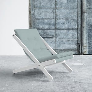 Fotel składany Karup Boogie White/Sky Blue
