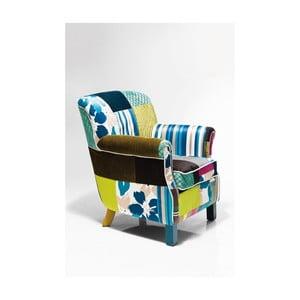 Fotel Kare Design Patchwork Stripes