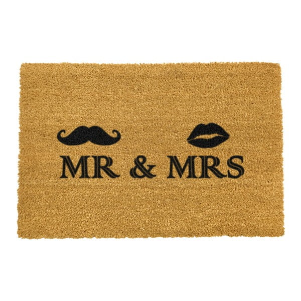 Wycieraczka Artsy Doormats Mr and Mrs, 40x60 cm