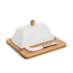 Maselniczka z podstawką i nożem Bambum Una