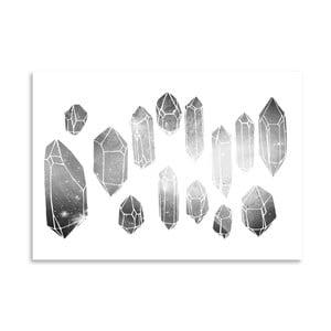 Plakat Americanflat Minerals, 30x42 cm