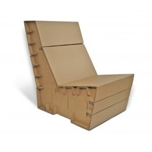 Kartonowy fotel Seater Basic