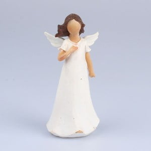 Anioł z ręką na serca Dakls