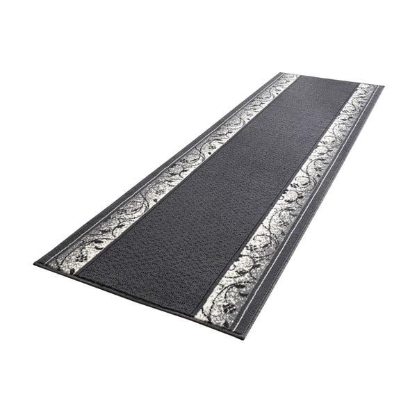 Dywan Basic Elegance, 80x400 cm, szary
