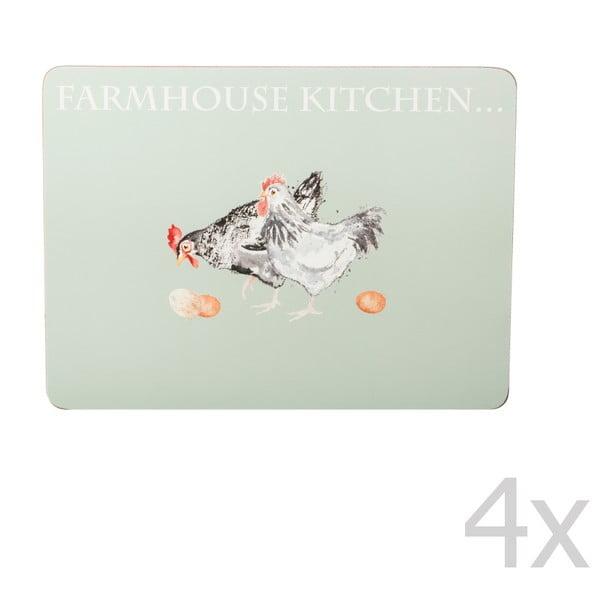 Zestaw 4 mat stołowych Price & Kensington Farmhouse