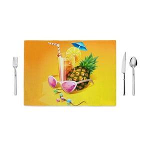 Mata stołowa Home de Bleu Tropical Coctail, 35x49cm