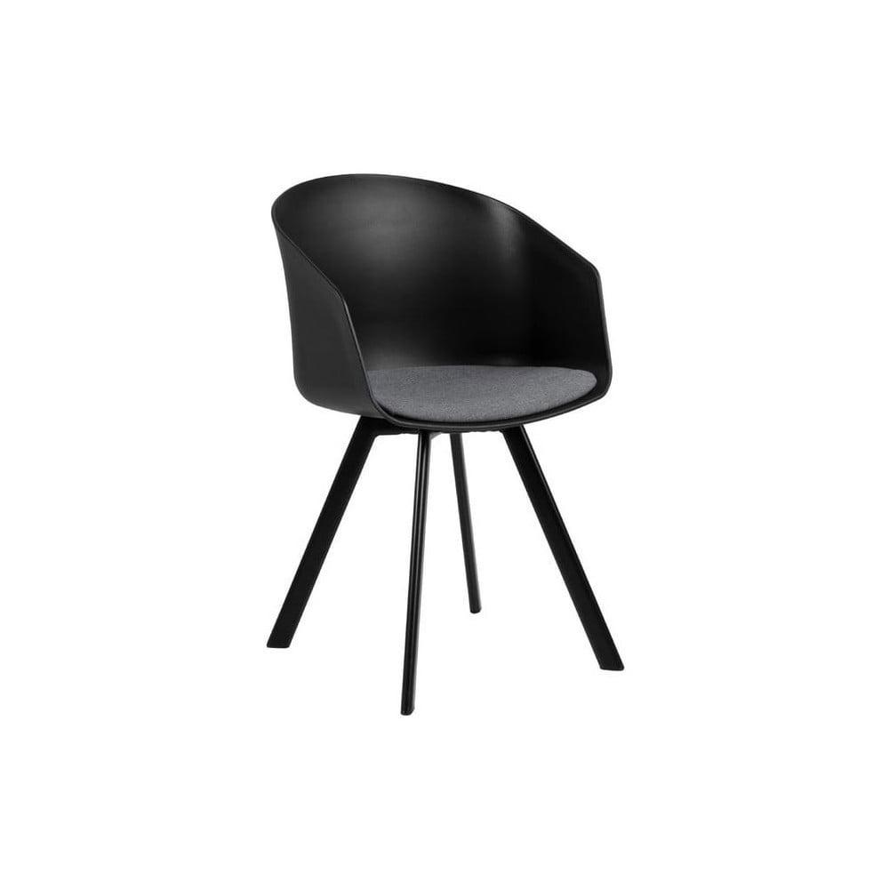 Czarne krzesło Interstil Moon 20