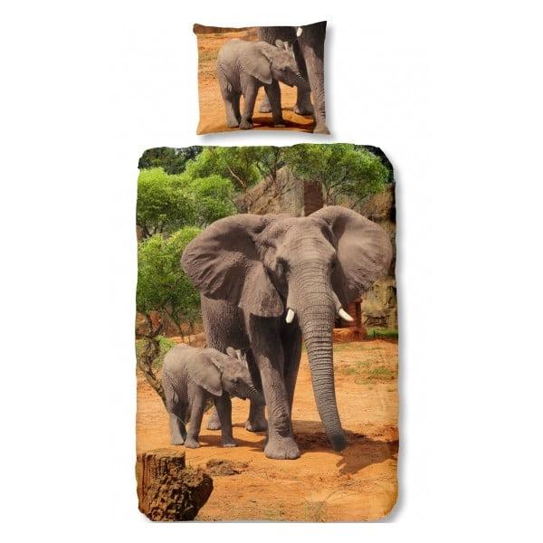 Pościel Elephants, 140x200 cm