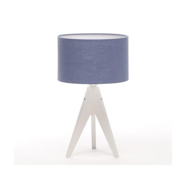 Lampa stołowa Artist Cylinder Dark Blue/White