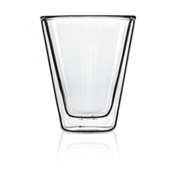 Zestaw 2 szklanek z podwójną ścianką Bredemeijer Caffeino, 85 ml