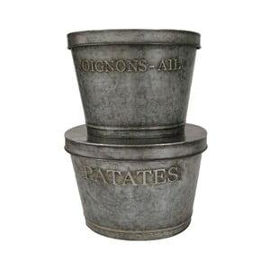 Zestaw 2 pojemników Antic Line Patates