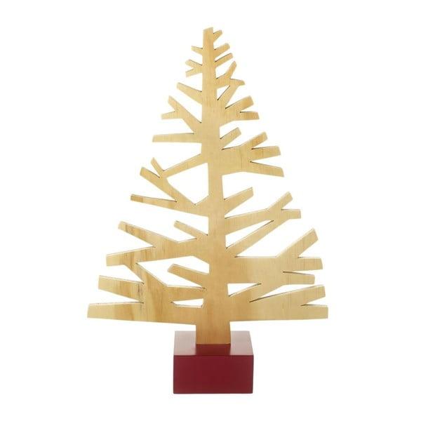 Drewniana dekoracja Xmas