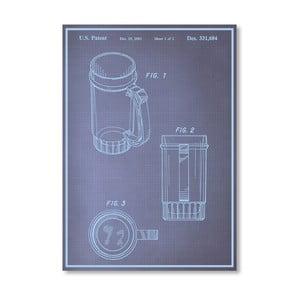 Plakat Beer Stein I, 30x42 cm