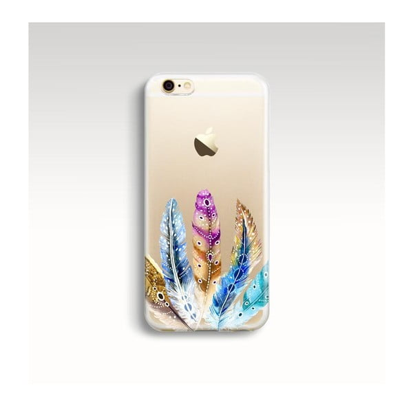 Etui na telefon Feathers na iPhone 5/5S