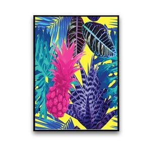 Plakat z ananasem, 30 x 40 cm
