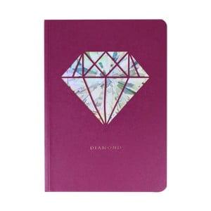 Notatnik A6 Portico Designs Diamant, 124 str.
