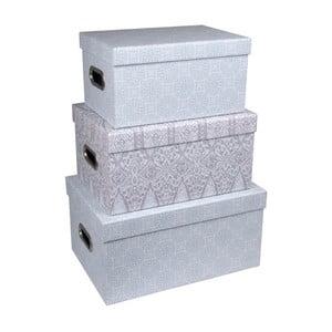 Zestaw 3 pudełek z uszkami Tri-Coastal Design Sky