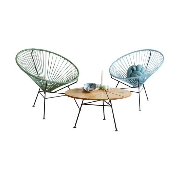 Fotel Condesa Pigion Blue