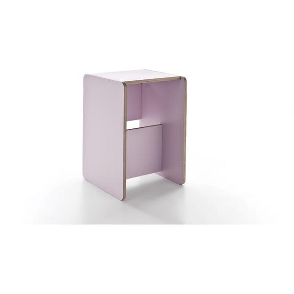 Rolle Pink, wielofunkcyjny stolik i schodki