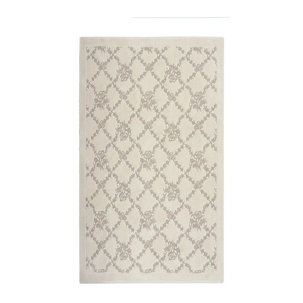 Kremowy dywan Floorist Bukle Sarmasik, 80x150 cm