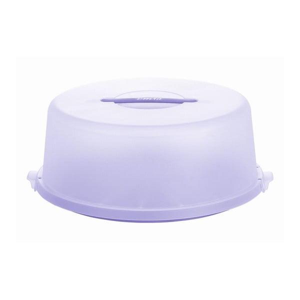 Pojemnik na tort Basic Lilac, 33x33 cm