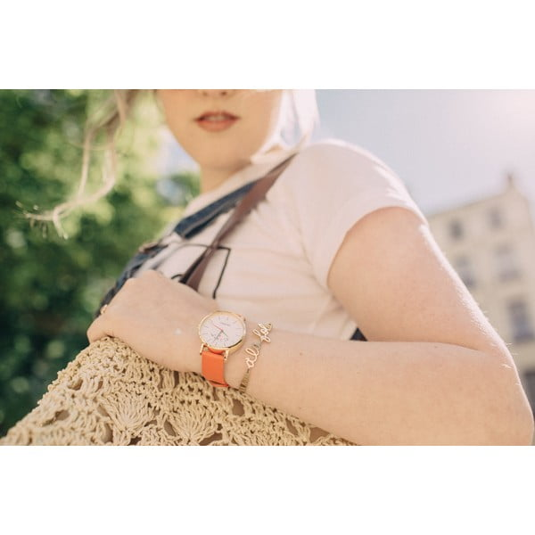 Zegarek VeryMojo Paris Mon Amour, bordowy