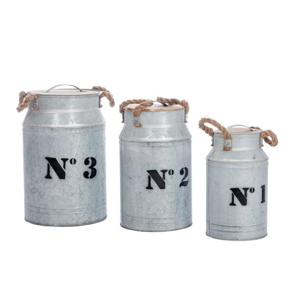 Komplet 3 pojemników Jars No. 1, 2 and 3