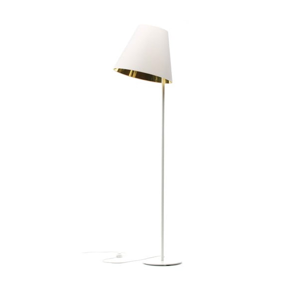 Lampa stojąca Book Golden/White